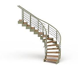 3d别墅<font class='myIsRed'>旋转楼梯</font>模型