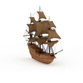 <font class='myIsRed'>帆船</font>3d模型