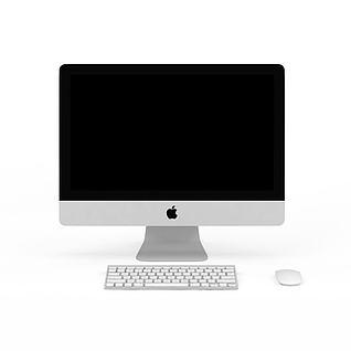 苹果电脑3d模型