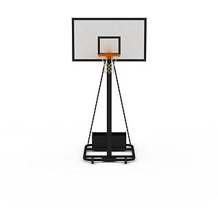 篮球架3d模型