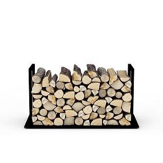 木头3d模型