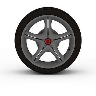 汽车备件3d模型