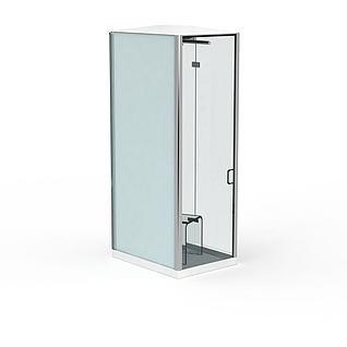 家用淋浴房3d模型