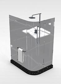 整体淋浴房模型