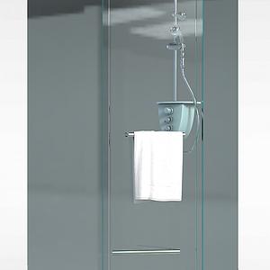 淋浴房模型