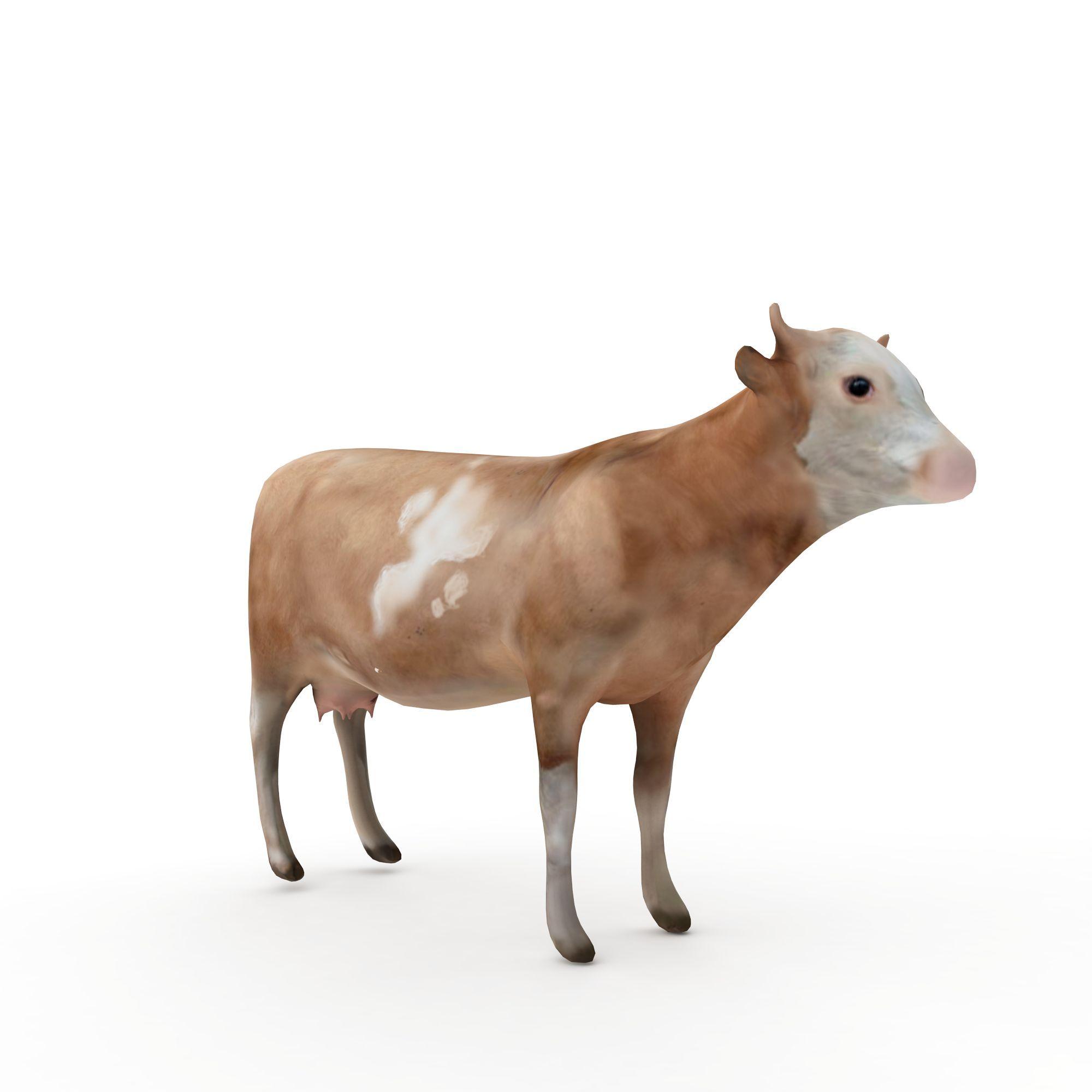 其它 动物牛3d模型 动物牛png高清图  动物牛高清图详情 设计师 3d