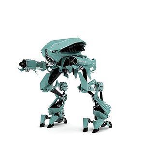 3d机器模型