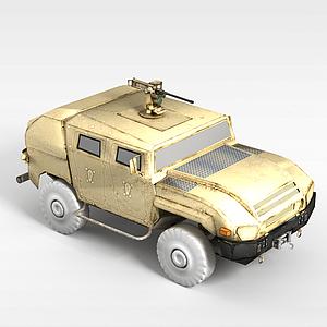 3d军事<font class='myIsRed'>汽车</font>模型