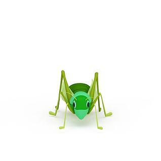 蚂蚱3d模型