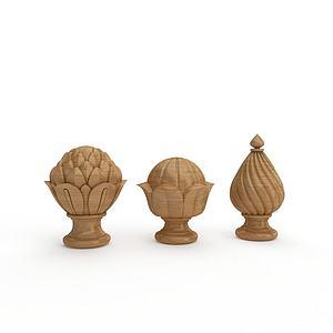 多樣式柱頭模型