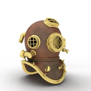 潜水帽3d模型