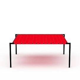 编织椅3d模型