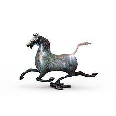 马踏飞燕雕塑3D模型3d模型