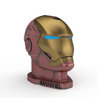3dMarvel钢铁侠模型