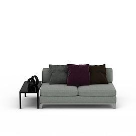 3d布艺<font class='myIsRed'>沙发</font>模型
