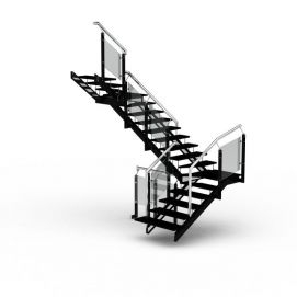 3d<font class='myIsRed'>楼梯</font>模型