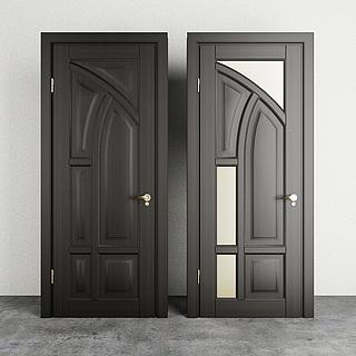 现代家装门3d模型
