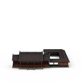 游戏场景元素3d模型
