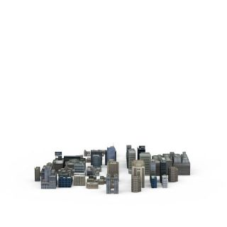 <font class='myIsRed'>现代建筑</font>3d模型