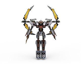机械<font class='myIsRed'>机器人</font>3d模型
