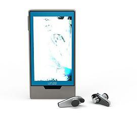 蓝牙耳机3d模型