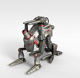 3d智能<font class='myIsRed'>机器人</font>模型