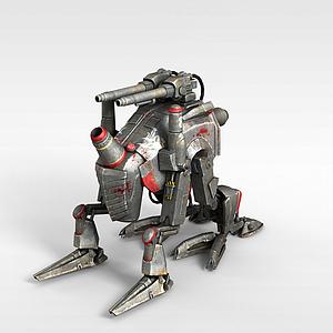 3d智能<font class='myIsRed'>機器人</font>模型