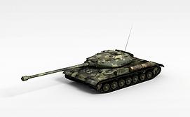 3d二战期间<font class='myIsRed'>坦克</font>模型