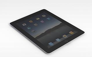 3d苹果ipad模型