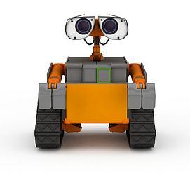3d组装<font class='myIsRed'>机器人</font>模型