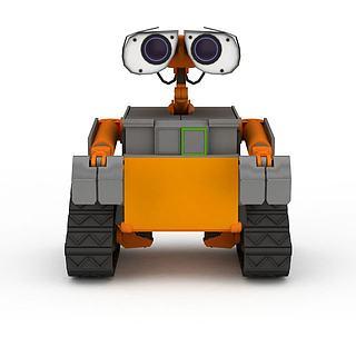 组装<font class='myIsRed'>机器人</font>3d模型