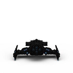 3d游戏战斗机模型