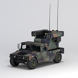 军事<font class='myIsRed'>汽车</font>3d模型