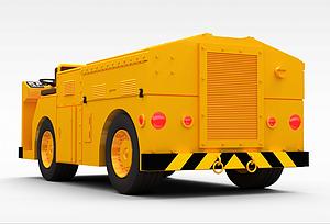 3d載重汽車模型