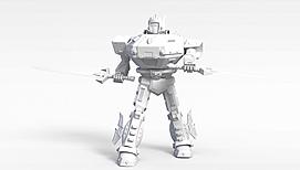 3d游戏<font class='myIsRed'>机器人</font>模型