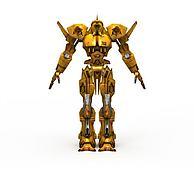 动漫机器人3D模型3d模型