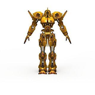 动漫<font class='myIsRed'>机器人</font>3d模型