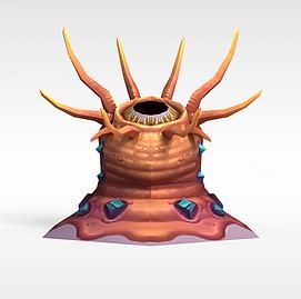 仙侠游戏元素3d模型