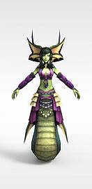 仙侠<font class='myIsRed'>游戏角色</font>3d模型