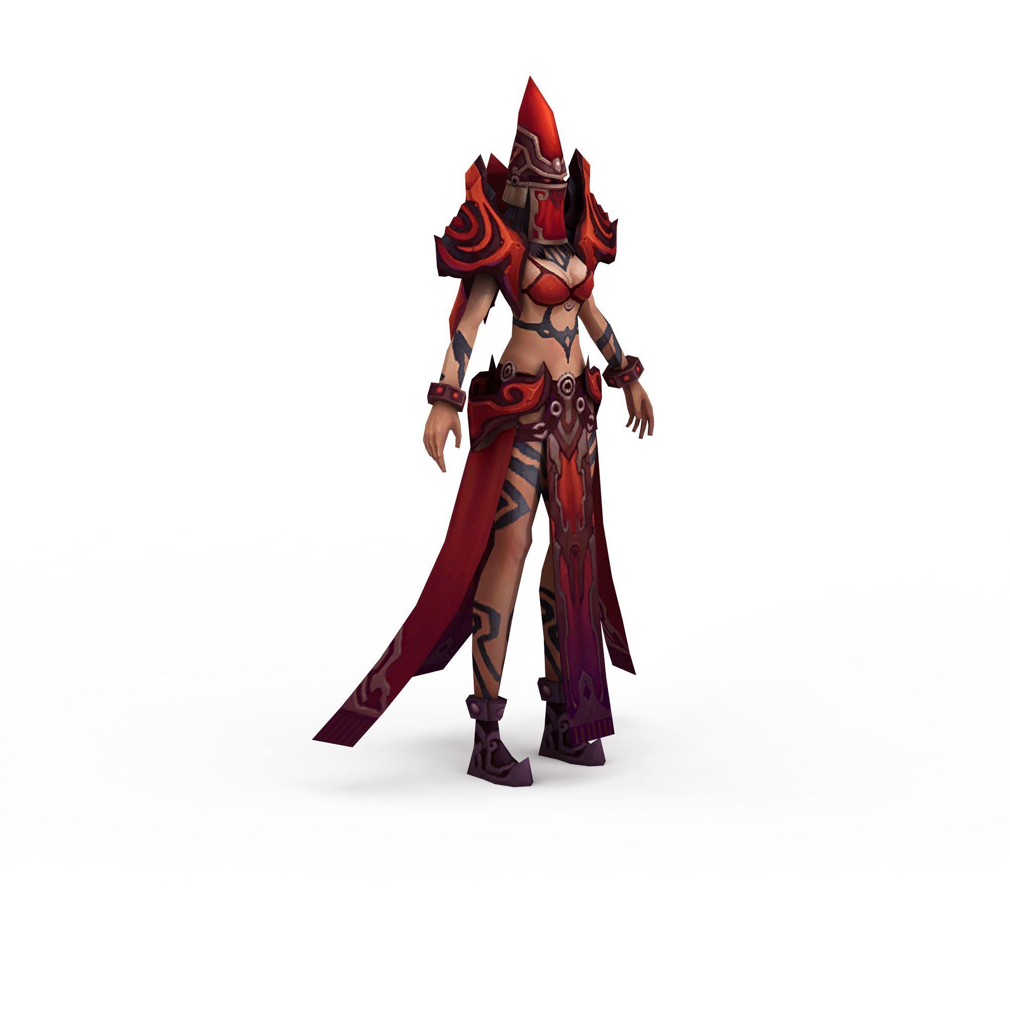 动漫游戏女角色高清图下载