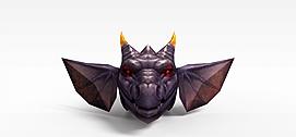 仙侠<font class='myIsRed'>游戏角色</font>怪兽3d模型
