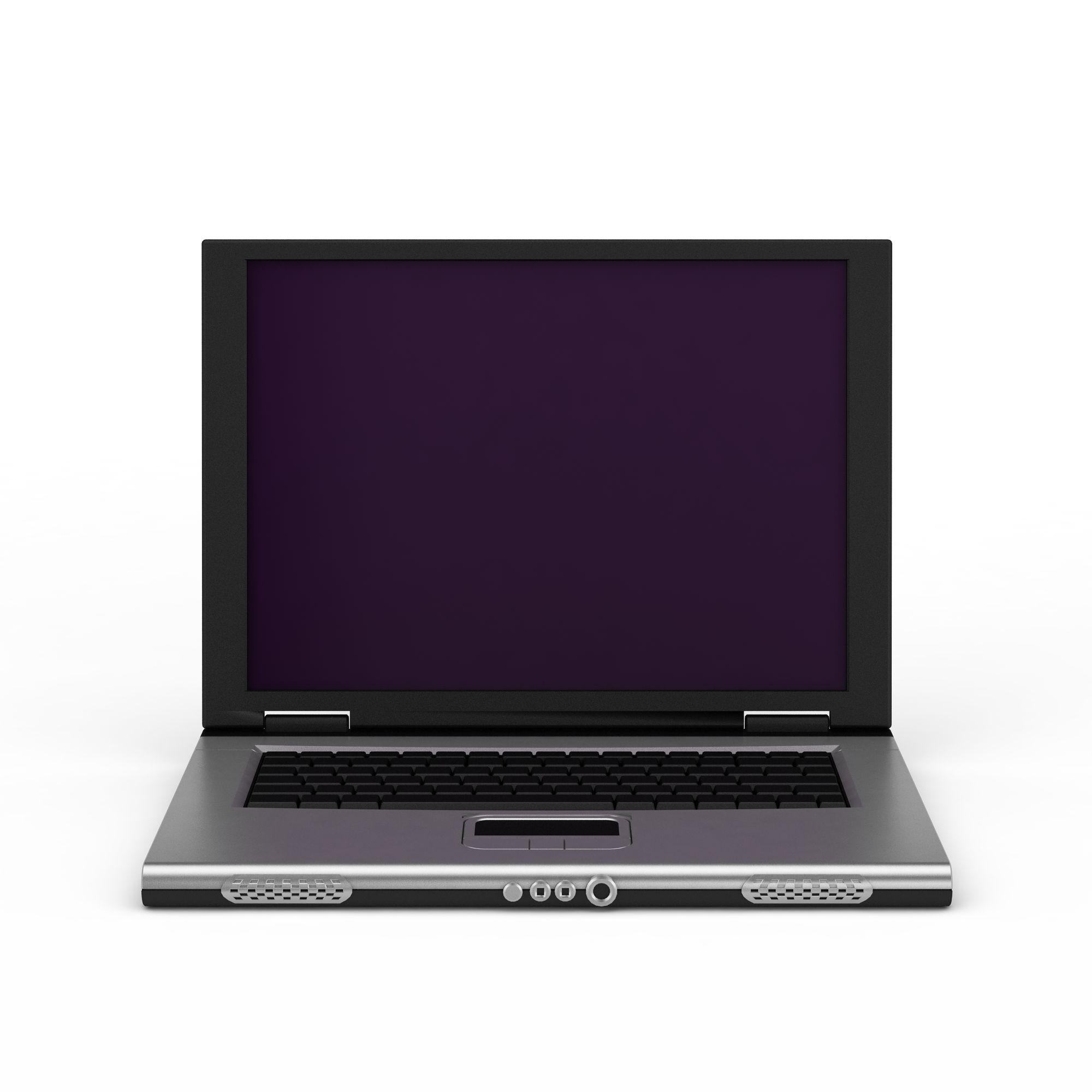 笔记本电脑png高清图  笔记本电脑高清图详情 设计师 3d学院 模型名称图片
