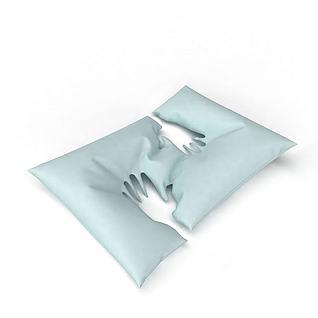 现代创意抱枕3d模型