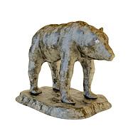 北极熊雕塑3D模型3d模型