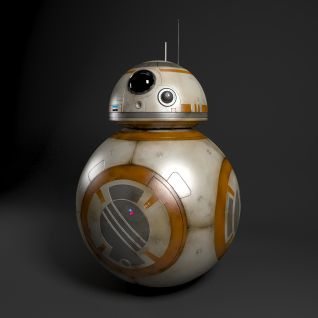 星球大战BB8机器人3d模型