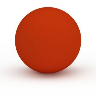 红色瑜伽球3d模型