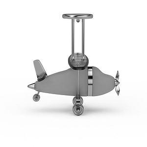 儿童玩具飞机模型3d模型