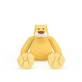 儿童玩具熊3d模型