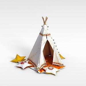 兒童帳篷模型