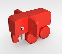 卡通玩具模型3d模型